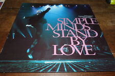 "SIMPLE MINDS - Vinyle Maxi 45 tours / 12"" !!! STAND BY LOVE !!! VST1358 !!!"