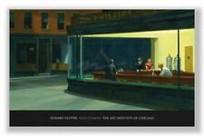 RESTAURANT ART PRINT Nighthawks 1942 Edward Hopper