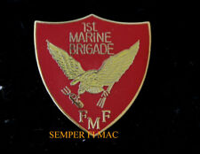 1ST MARINE Expeditionary BRIGADE 1 MEF FMF HAT PIN US MARINES MAGTF MCB CAMP PEN