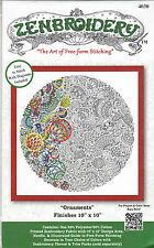 """Embroidery Kit ~ Design Works Zenbroidery """"Christmas Ornaments"""" #DW4030"""
