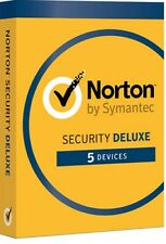 Norton Internet Security DELUXE 2020 5 Devices 1 Year - Licence key only