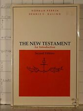The New Testament : An Introduction by Norman Perrin, R. Ferm 1982 PB 190