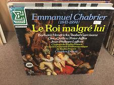 Emmanuel Chabrier Le Roi Malgre Lui vinyl 3x LP BOX NM Charles Dutoit FRANCE