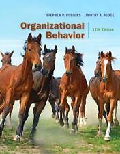 Organizational Behavior by Stephen P. Robbins and Timothy A. Judge (2016, Hardco
