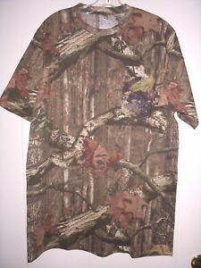 MOSSY OAK  CAMOUFLAGE MEN'S POCKET T-SHIRT LARGE