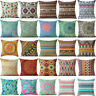 Geometric Bohemian Decoration Case Cushion Linen Home Decor Cotton Cover Pillow