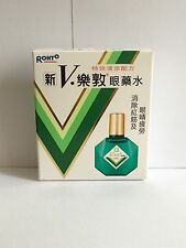 New V Rohto Plus Eye Drops 13ml
