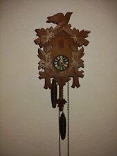Vintage Cuckoo Clock Mfg Co 8 Day Maple Leaf & Bird Cuckoo Clock parts repair
