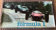 Vintage Waddingtons FORMULA 1 Motor Racing Board Game 1962