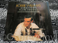 Robbie Williams Swing when you're Winning Factory Sealed vinyl LP