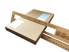 100 Strong Cardboard Postage Boxes Qualify as Large Letter Shipping Postal Mail