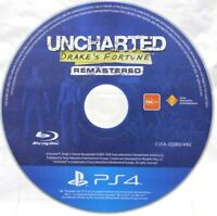 UNCHARTED Drake's Fortune Remastered Game PlayStation 4 PS4  - Disc Only