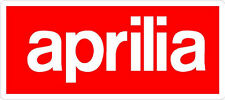 #468 (1) Aprilia Racing Logo Motorcycle Decal Sticker RSV4 Tuono LAMINATED