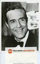 RICARDO MONTALBAN SMILING PORTRAIT WHAT'S IT ALL ABOUT WORLD? 1969 ABC TV PHOTO