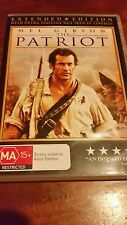 THE PATRIOT - MEL GIBSON  - DVD R4 (Extended Edition)