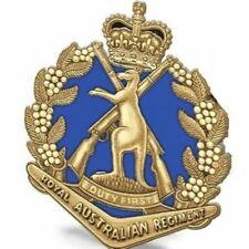 AUSTRALIAN ARMY 1st BATTALION 1 RAR ROYAL AUSTRALIAN REGIMENT LAPEL PIN
