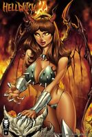 Lady Death Hellwitch Forsaken #1  SET of 2  Standard & Horns  Comic Books