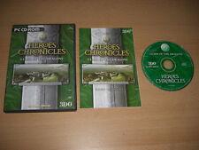 HEROES CHRONICLES - Clash du Dragons Pc Cd Rom rapide expédition