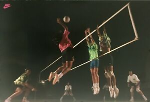"""NIKE Women's Volleyball Poster  24"""" X 36"""" NEVER BEEN USED"""