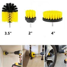 Power Scrubber Cleaning Drill Brush Round Drill Attachment For Carpet Tile Clean