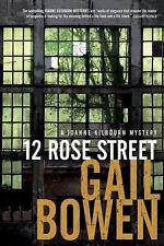 12 Rose Street by Gail Bowen Mystery Book Hardback Dust Jacket