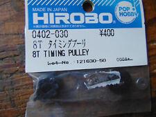 HIROBO SHUTTLE 8T TIMING PULLEY 0402-030 BNIB