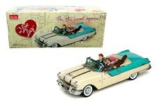 I Love Lucy 1955 Pontiac Star Chief Die-cast Car 1:18 Sun Star 12 inch Figurines