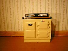 1/12th Dollshouse Miniature Solid Resin Aga Type Cooker in Cream