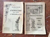 Almanach Della Parish di Audincourt Anno 1923-24