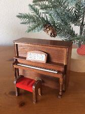 Miniature Upright Piano & Bench