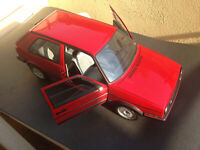 VW Golf 2 GTI Hachette gebaut Mängel + Fehltteile 1:8 + BBS Felgen Otto 1:18