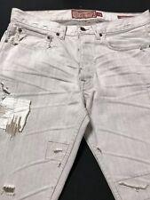 EUC Lucky Legend Jean/Distressed Mens Sz.32x30/Straight-100% Cotton Tan