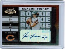 2003 Playoff Contenders Rex Grossman Auto Autograph RC Chicago Bears #'d 160/494