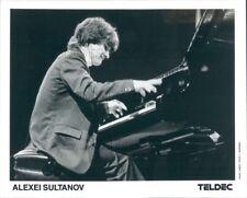 1990 Press Photo Russian Classical Pianist Alexei Sultanov