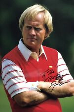 """New listing JACK NICKLAUS - GOLF - ORIGINAL SIGNED 12x8"""" PHOTO DEDICATED """"TO ROB"""" - WITH LOA"""