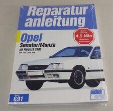 Reparaturanleitung Opel Senator / Monza - 20E, 25E, 30H, 30E - ab Augst 1981!