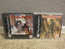 Lot of 2 PS1 Games: Vandal-Hearts I & II bundle Sony PlayStation 1 PSX