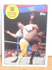 WWE - HERITAGE 2015 - I.R.S.  - ROOKIE OF THE YEAR - CARD  #9 OF 30