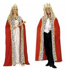König Königinen Mantel Umhang aus SAMT Cape Königsmantel Herren Damen Kostüm