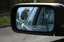 OBJECTS IN MIRROR ARE LOSING Funny Racing Mirror Decals Stickers JDM Drifting
