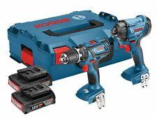Bosch 18 Volt Cordless Twin Pack Impact Driver & Combi Drill 2 x 3.0Ah Li-Ion