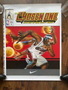 Nike Lebron James The Chosen One Poster 16x20