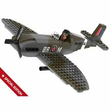 Sluban Spitfire Flugzeug Steckbausteine Bausteine M38-70071