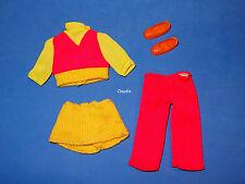 TUTTI Europe HOSENANZUG PANT SUIT #7982 RARE VARIATION w/ RED PANTS VHTF
