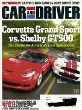 CAR & DRIVER 2009 NOV - VETTE vs GT500, GULLWING, BUGATTI, BLOWER-JAG, AMC