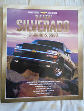 Chevrolet Silverado 2500HD y 3500 FOLLETO Julio 2000 mercado de Estados Unidos