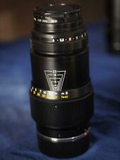 Leica 135mm f4 Tele-Elmar (Made In Germany) with Leica filter and lens hood