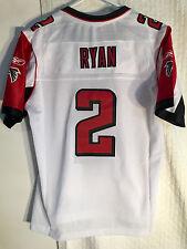 Reebok Women's Premier NFL Jersey Atlanta Falcons Matt Ryan White sz XL