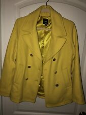 Gap Jacket Yellow Size S gold buttons beautiful