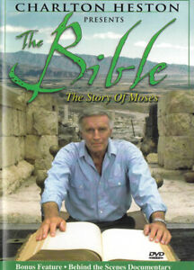 Charlton Heston Presents The Bible: the Story New DVD
